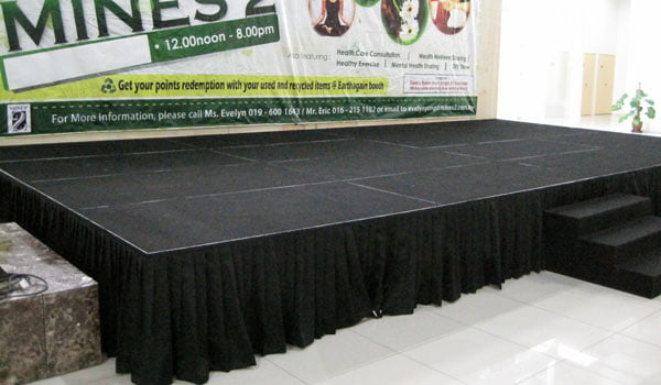 Mobile Stage At Mines 2