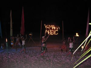 Yamaha Music dinner at the beach