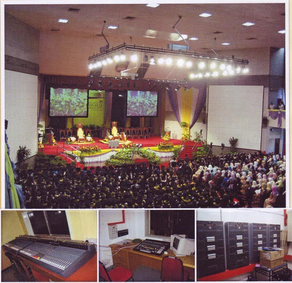 UiTM Dewan Sri Budiman During Convocation
